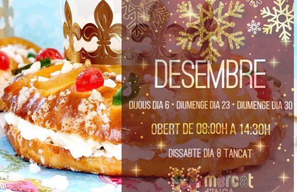 Abrimos los días 23 y 30 de diciembre