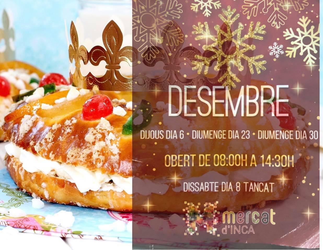 Obrim els dies 23 i 30 de desembre