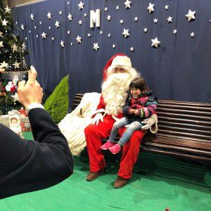 Visita del Papá Noel