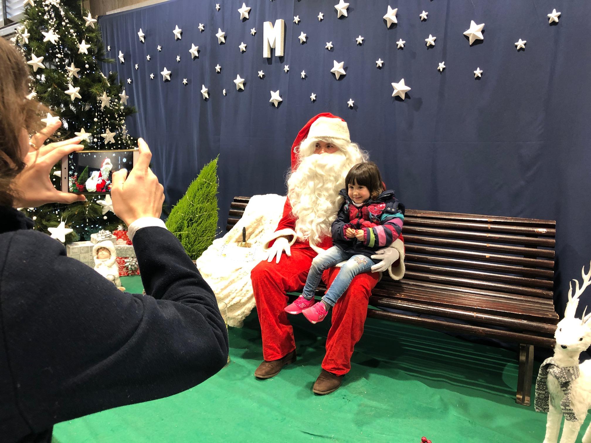 Visita del Pare Noel