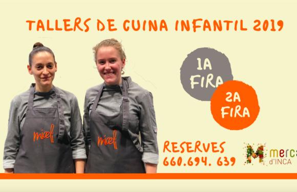 Apúntate a los talleres de cocina infantil de las ferias de Inca 2019