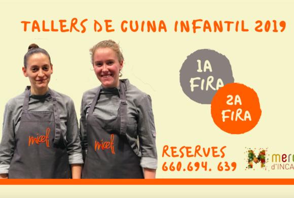 Apúnta't als tallers de cuina infantil de les fires d'Inca 2019